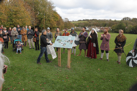 Anglo-Saxons in Lyminge 2018