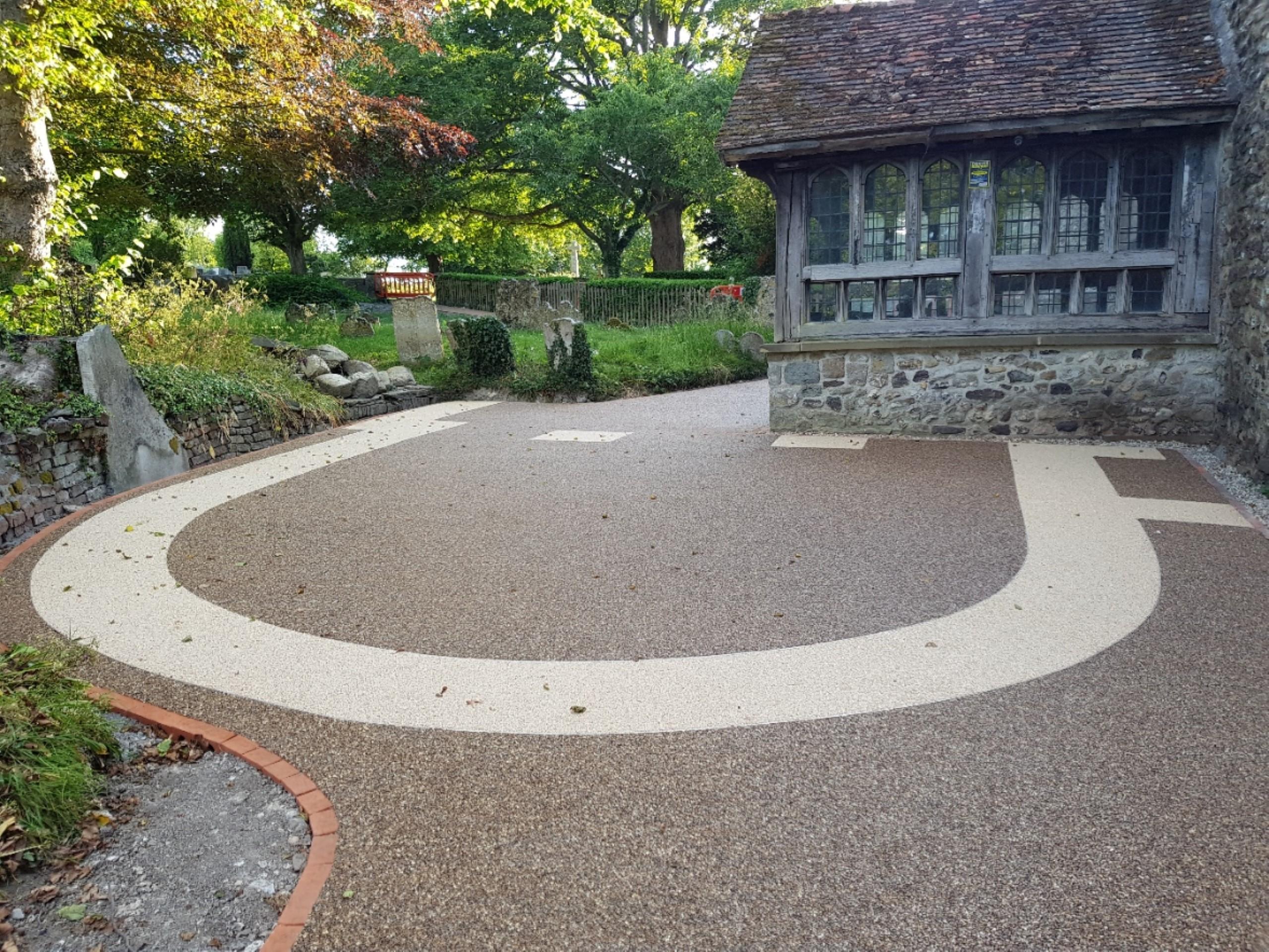 The new church path